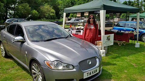My Wife Kam with our stall & XF