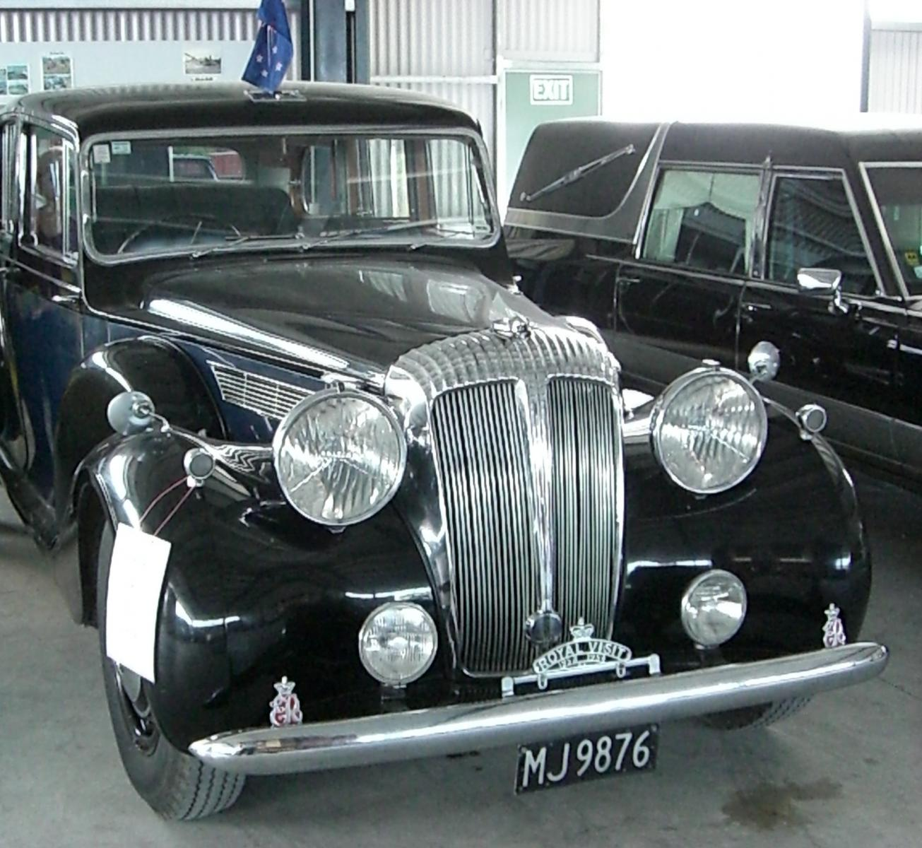Royal Daimler, South Island New Zealand